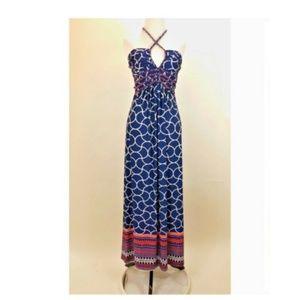 Saint Tropez West Womens Dress Size Small Halter